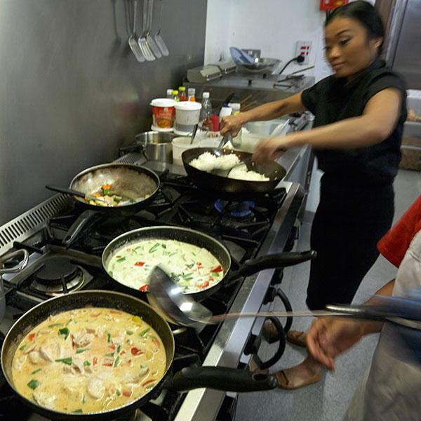 Thai Garden Cafe Kitchen