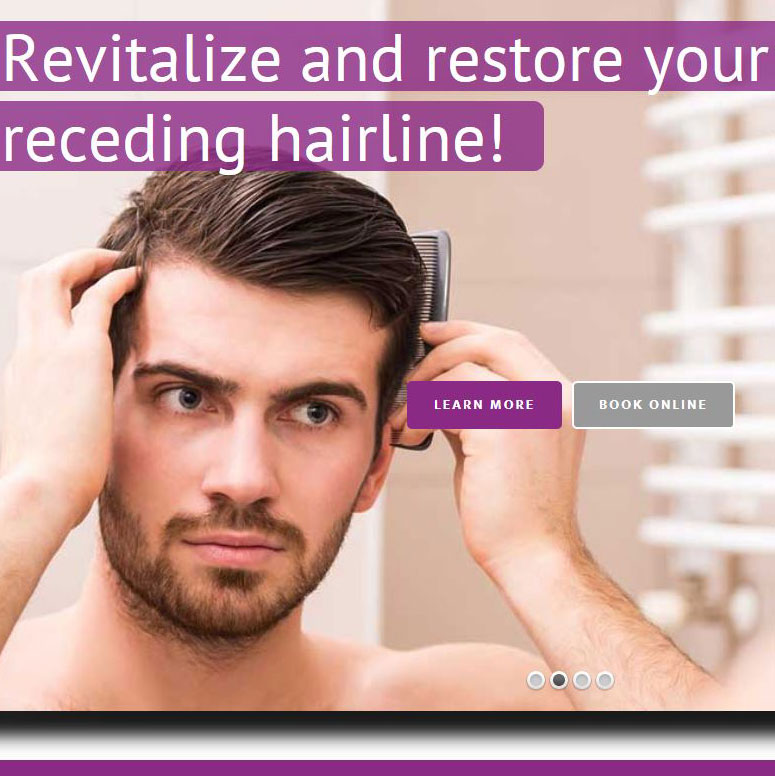 Hair Revive Ecommerce Website