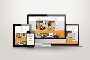 Recliner Outlet eCommerce Website Design - Full Responsive Showcase
